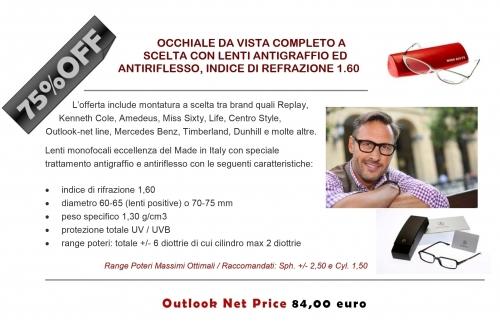 nuovi prezzi più bassi ultima selezione in vendita online Promozioni | OUTLOOK - Outlet dell'Occhiale